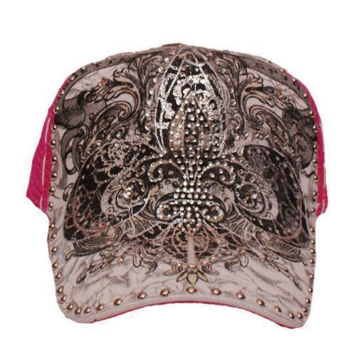 Rhinestone Baseball Cap  Hats  0e9b2f767f51