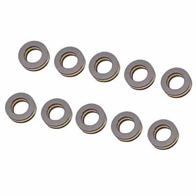 10pcs F10-18m Axial Ball Thrust Bearing 3-parts 10mm X 18mm X 5.5mm