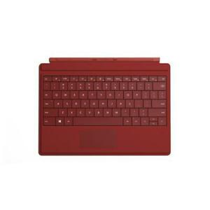 NEW Microsoft Surface 3 Type Cover w/ Backlighting (Red) & Wireless Adapter - Keyboard Accessory - A7Z-00003