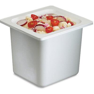 San Jamar Chill-it Food Pan 16 Size White