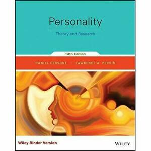 YORK U PSYC 2130 - Personality: Theory and Research (13th Ed.)