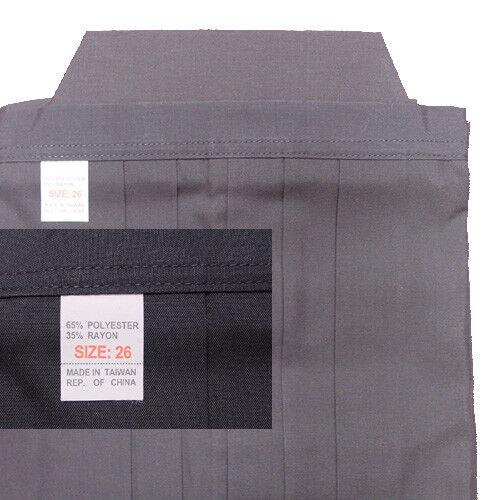 Hakama schwarz für Aikido, Kendo