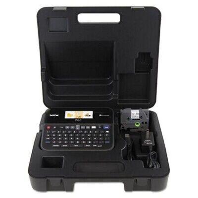Brother P-touch Pt-d600vp Pc-connectable Label Maker Black Brtptd600vp
