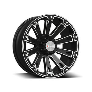 """20"""" Forza Blk or blk & mach rims for Dodge 1500 ONLY $599 set"""