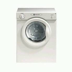 White knight compact dryer