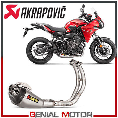 Full System Exhaust Titanium Akrapovic Racing Line YAMAHA TRACER 700 2016 > 2019