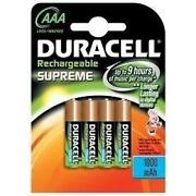 Duracell AAA Rechargeable Batteries 1000