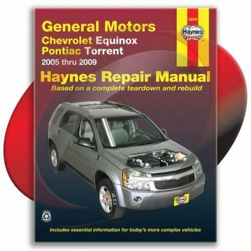 2005 chevy equinox service manual