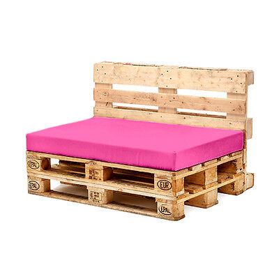 Pink Seat Cushion for Euro Pallet Garden Furniture Waterproof Outdoor Sofa UK