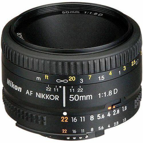 Nikon AF-S NIKKOR 50mm f/1.8G Standard Lens Black 2199