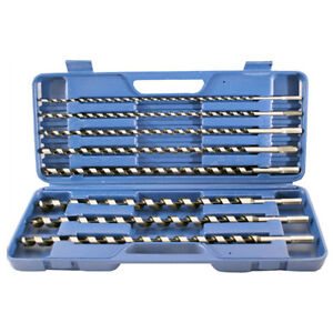 8-PC-HEX-WOOD-AUGER-DRILL-BITS-SET-IN-CASE-PIECE-C8051