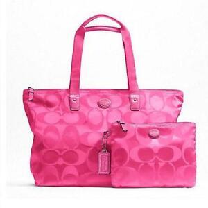 7a7ae690f59a Black Pink Coach Purse