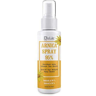 Arnica Spray 95% - 100 ml - Calmante con Arnica Montana, aceite...