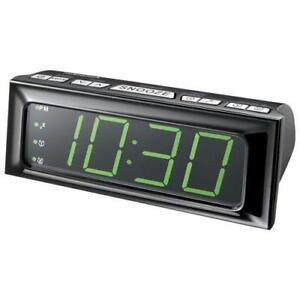 Insignia NS-CLOPP2-C AM/FM Clock Radio - Black (New other)