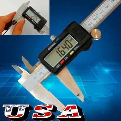 300mm 12inch Lcd Digital Electronic Vernier Caliper Gauge Micrometer Ruler Tool