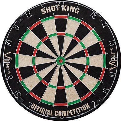 Viper Shot King Bristle Dartboard , New, Free Shipping