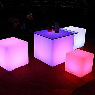 Floating Pool LED Lights Orbit Ball Cube Remote Outdoor Waterproof Garden Decor - Led Cube Lights Decorations