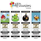 Angry Birds Personalized Invitations