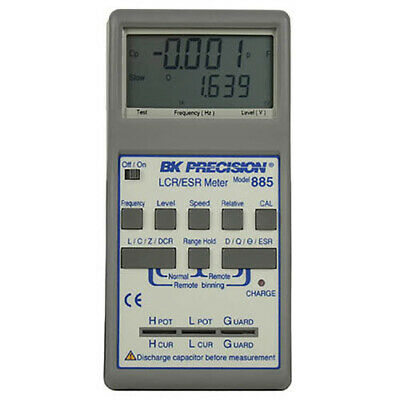 Bk Precision 885 Synthesized In-circuit Lcresr Meter .5 Accy 10khz