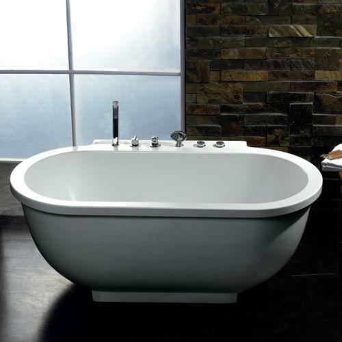 freestanding whirlpool tub bathtubs ebay