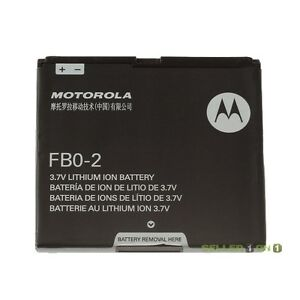New-OEM-Motorola-Triumph-Battery-FB0-2-Black-Original-FB02-Li-ION-1380mAh-fbo2