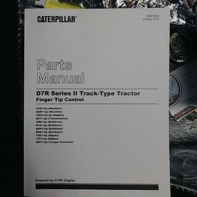 Caterpillar D7r Series Ii Track Type Tractor Finger Tip Control Parts Manual