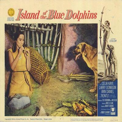 Island Of The Blue Dolphins  1964  Original Movie  Dvd Video  Celia Milius