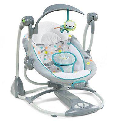 Ingenuity Baby Swing-2-Seat Infant Cradle Rocker Chair Portable Toddler Best