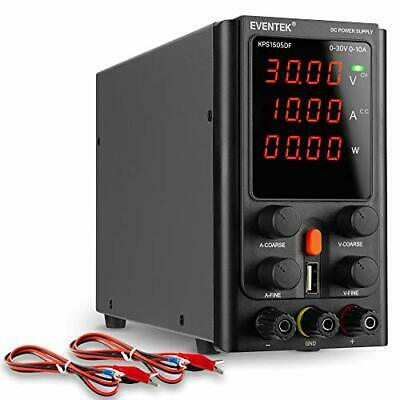 Dc Power Supply Variable Eventek Adjustable Switching Dc Regulated Bench Powe...