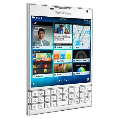 Blackberry Passport 32GB Qwertz Handy Smartphone ohne Vertrag LTE/4G WiFi WLAN