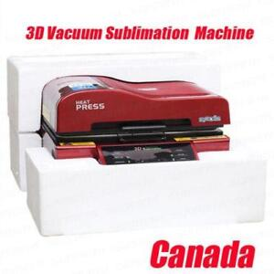 3D Vacuum Mug Sublimation Heat Press Transfer Machine (Color Random)