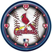 St Louis Cardinals Clock