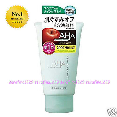 JAPAN BCL Cleansing Research AHA Exfoliating Face Wash