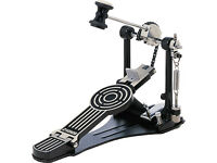 Sonor Force 400 bass drum pedal kick solid floorplate black adjustable toe stop NICE