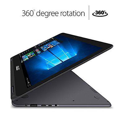 """New ASUS Zenbook UX360CA Flip M3-6Y30 2.2GHz 13.3"""" FHD Touch 8GB 256GB W10H 1Yr"""