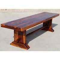 VERY COOL RETRO / VINTAGE 1950'S PIZZA PARLOUR BENCH