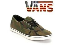 Vans Camouflage Trainers. UK 6. Cost £45. Excellent Condition. Unisex.