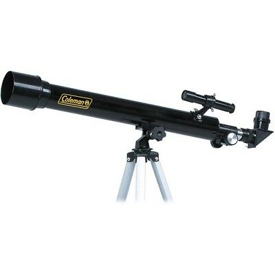 Coleman AT50 AstroWatch 50mm Refractor Telescope with Aluminum Tripod