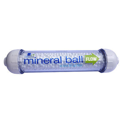 Clarion Spa's Mineral Ball Filter refill and top up