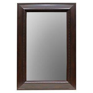 Threshold™ Wall Mirror - Brown (24x36
