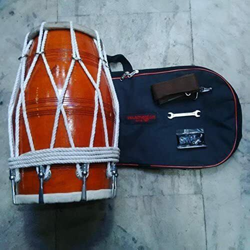 Sai Musical Wooden Professional Dholak For Orchestra.