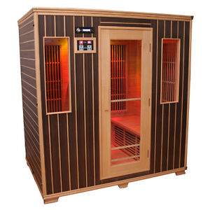 SAUNA INFARED AVEC STEREO( 4-5 PERSONNES)