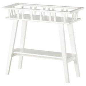2 IKEA Lantliv plant stands, sofa tables (1 new $40, 1 used $20)