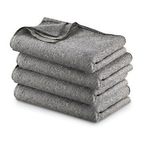 FIRE-RETARDENT-SAFETY-RESCUE-WOOL-BLANKET-GREY-RELIEF