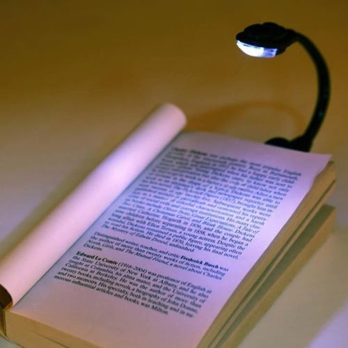 Mini Book LED Night Light Travel Reading Lamp For All Kindle E-reader Clip On