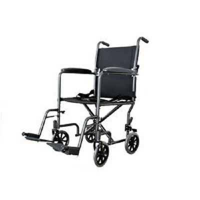 New Cardinal Health Transport Chair Wheel Chair Light Weight Wheelchair