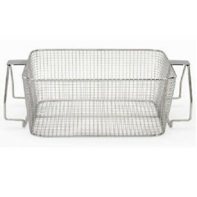 Crest Mesh Basket Stainless Steel W Handle For 1800 Series Ultrasonic Cleaner