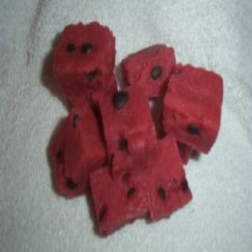 10 Wax scented watermelon chunks embeds,tarts,melts. FREE SHIPPING