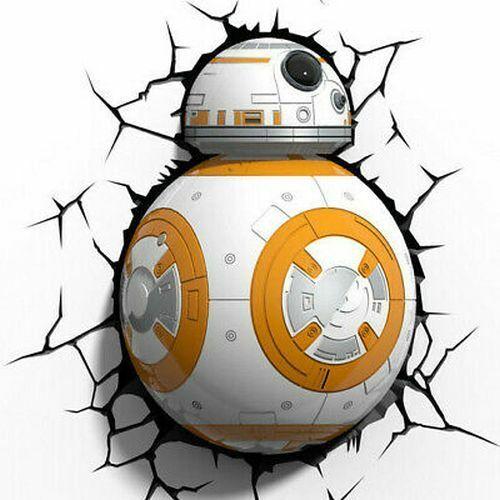 Star Wars BB8 3D Light FX Deco Wall Light