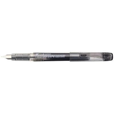 Platinum Preppy Fountain Pen 0.3mm Fine Nib Black Ink PSQ-300#1-2 F/S - Fountain Pen Fine Black Ink